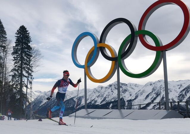 Yevgeny Belov (Russia) during the individual race in men's cross-country skiing at the XXII Olympic Winter Games in Sochi. (File)