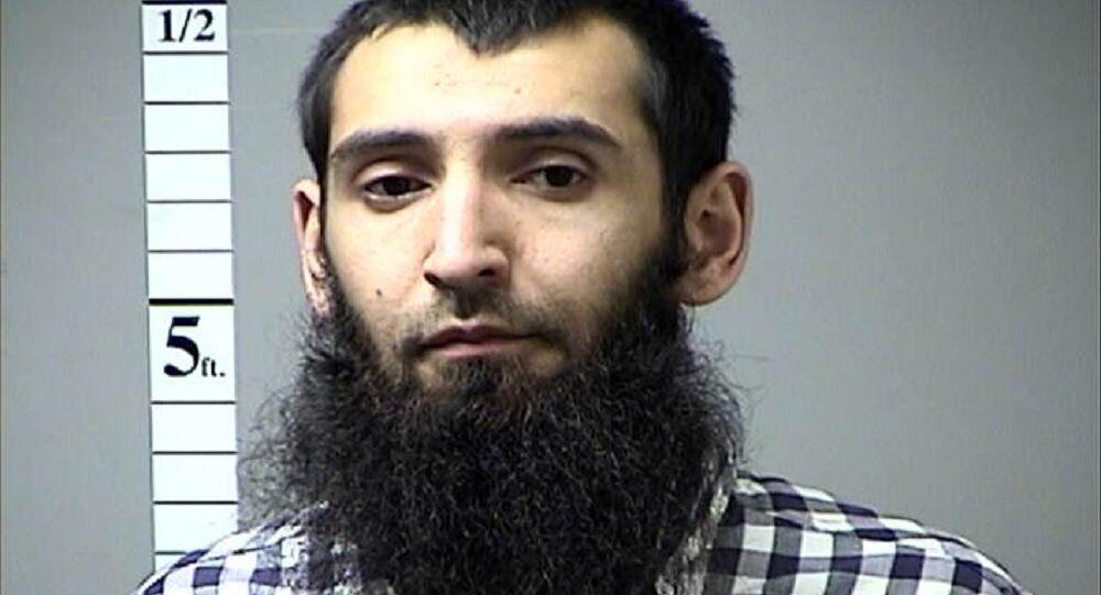 Sayfullo Saipov, the suspect in the New York City truck attack