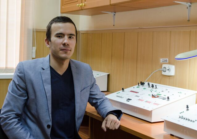 Postgraduate student at the Department of Automatic Electric Drive at the SUSU's Polytechnic Institute Evgenii Khayatov