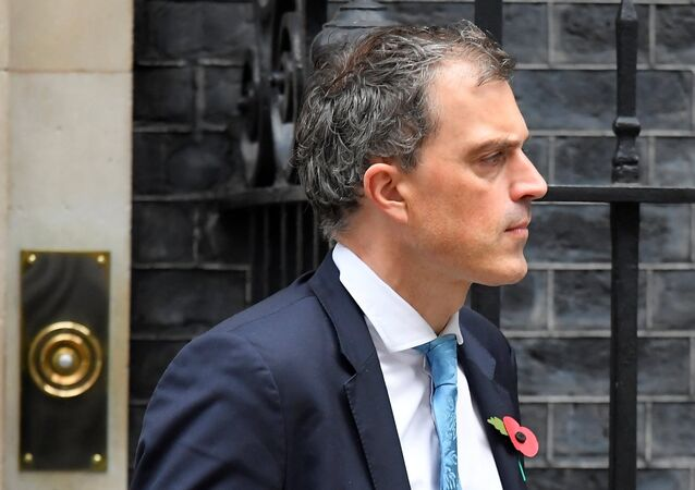 Britain's Deputy Chief Whip Julian Smith leaves in Downing Street, London, Britain, November 2, 2017.