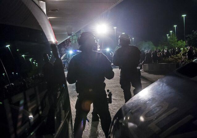 German riot police (File)
