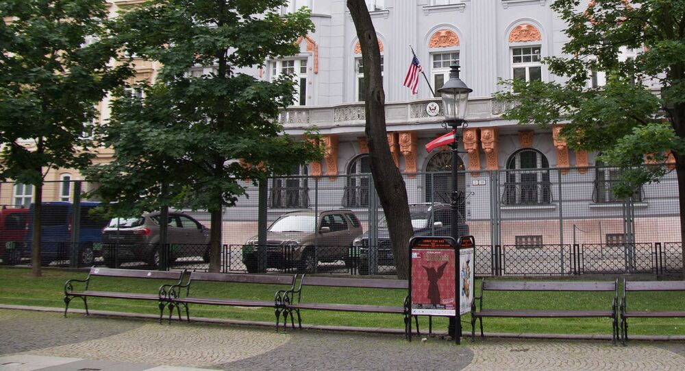 US Embassy in Bratislava