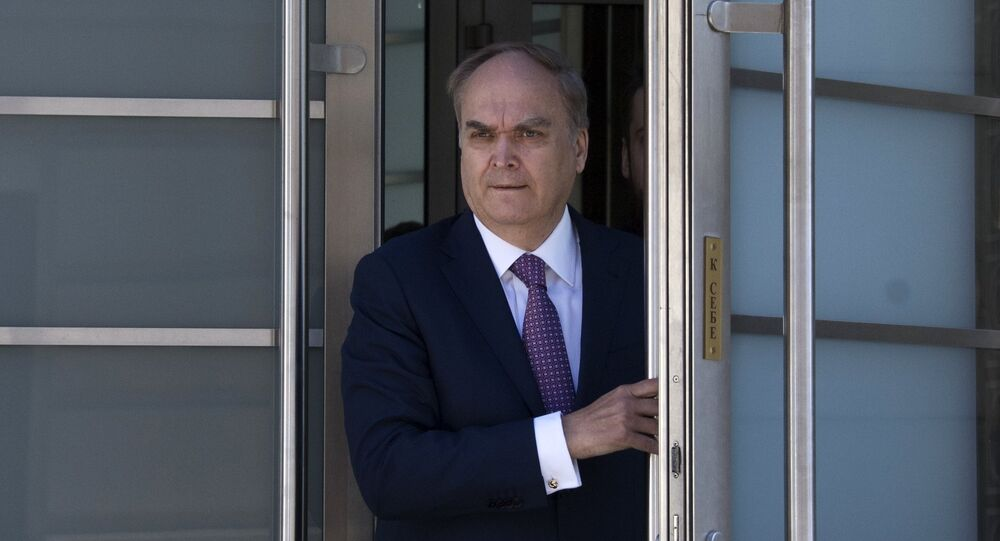 Russian Ambassador to the United States Anatoly Antonov. File photo