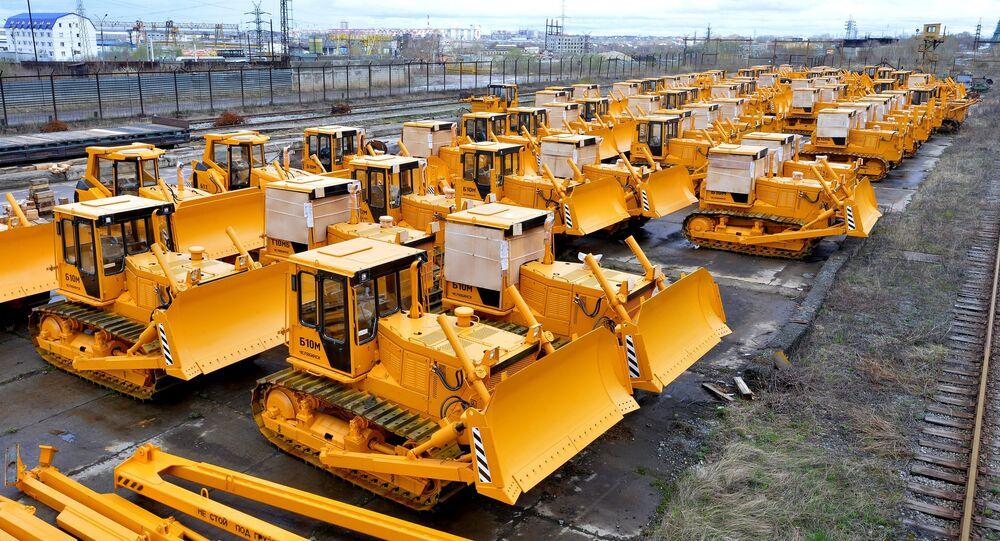 Tractors produced at Chelyabinsk Tractor Plant (ChTZ-Uraltrak)