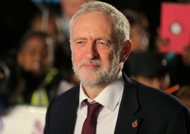 Britain's opposition Labour Party leader, Jeremy Corbyn, arrives for the Pride of Britain Awards in London, Britain, October 30, 2017