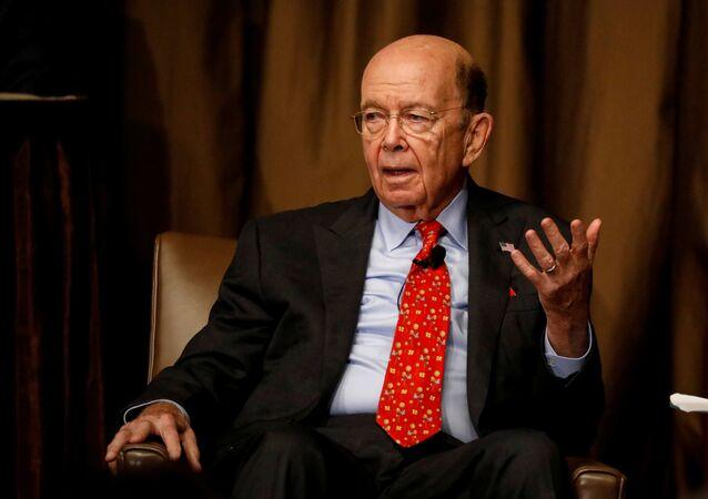 Commerce Secretary Wilbur Ross speaks to the Economic Club of New York in New York City, U.S., October 25, 2017