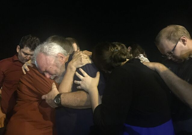 Several Hundred People Attend Candlelight Vigil to Honor Texas Church Shooting Victims