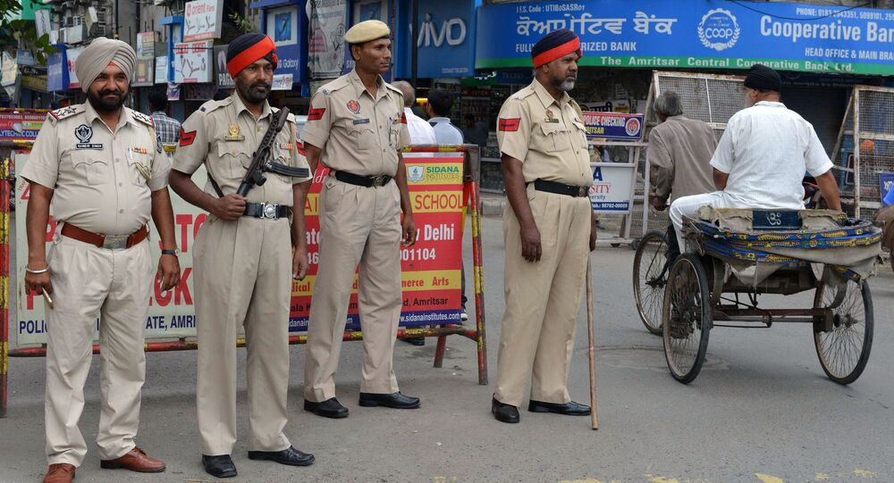 Indian police