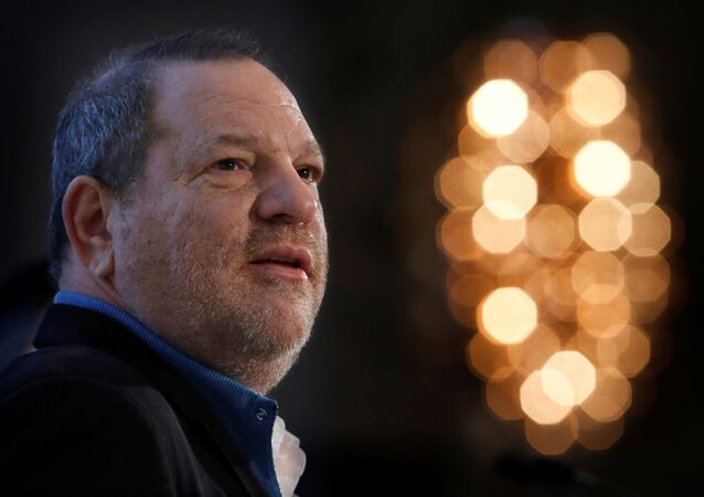 Harvey Weinstein speaks at the UBS 40th Annual Global Media and Communications Conference in New York, NY, US, on December 5, 2012