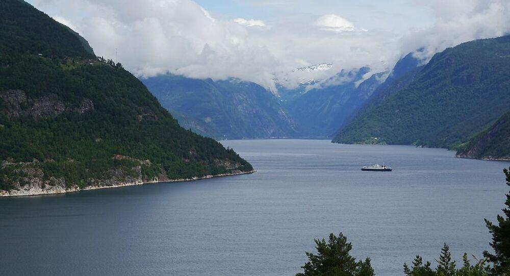 Hordaland Hardangerfjord