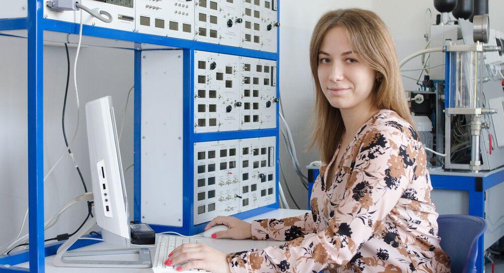 Daria Khabarova, postgraduate at SUSU's Polytechnic Institute