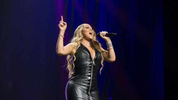 Mariah Carey performs during the All The Hits tour at The BB&T Center in Fort Lauderdale, FL - Sputnik International