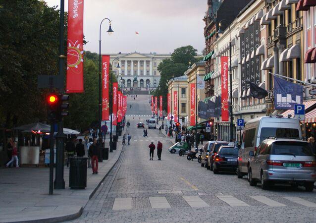 Karl Johan's Gate Street, Oslo