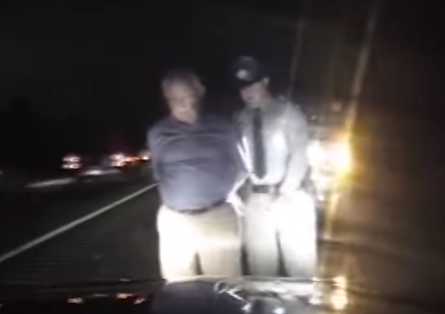 Dashcam footage shows South Carolina Senator Paul Campbell get arrested for driving under the influence