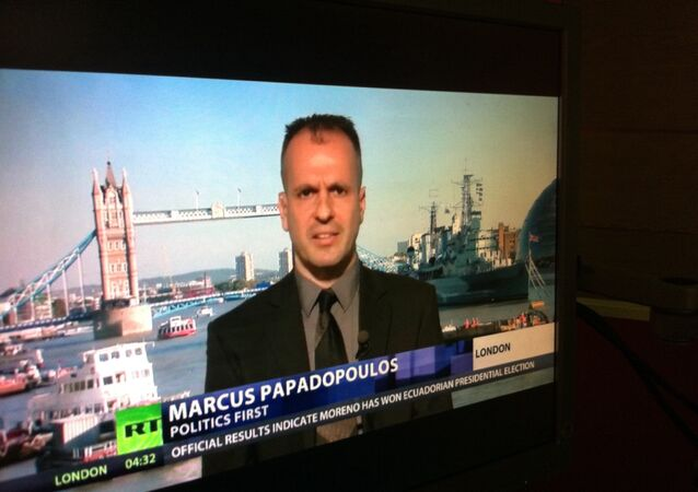 Chief Editor of the UK magazine Politics First Marcus Papadopoulos