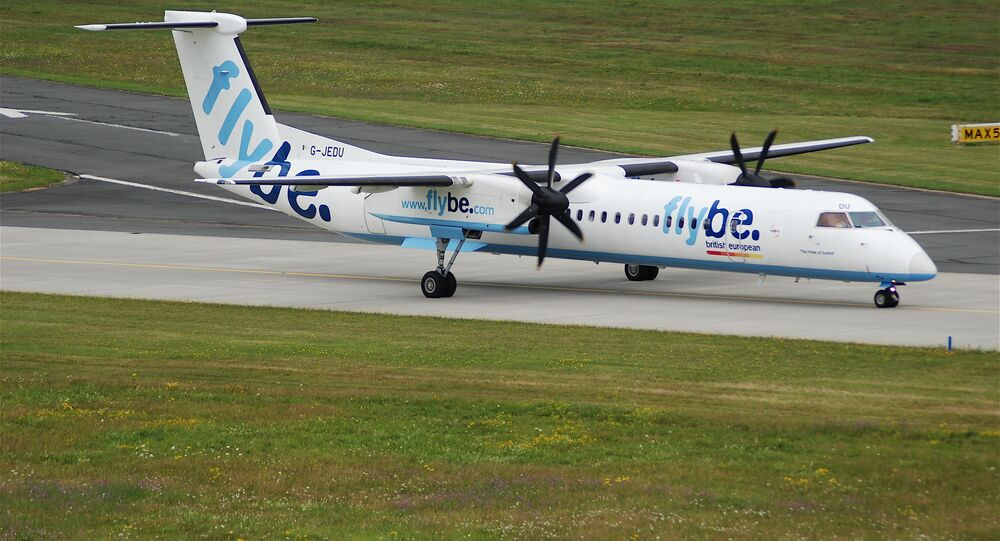 FlyBe DHC-8-400 aircraft