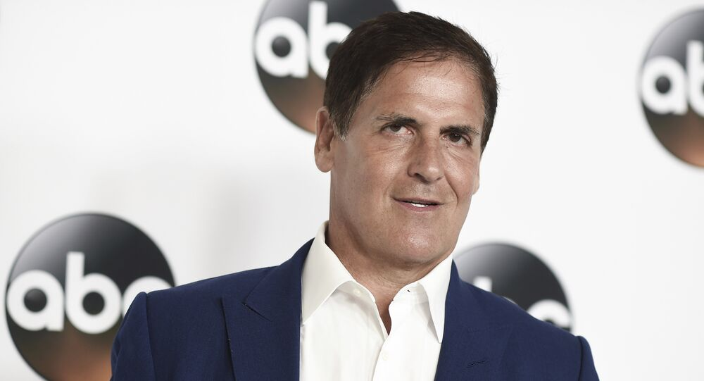 Mark Cuban attends the Disney ABC Television Critics Association 2017 Summer Press Tour at the Beverly Hilton Hotel on Sunday, Aug. 6, 2017, in Beverly Hills, Calif.