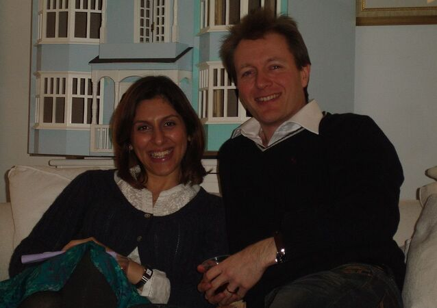 Nazanin and Richard Ratcliffe (File)