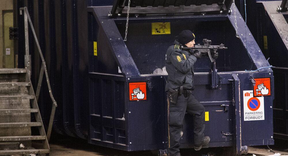 A Police officer in Norrebro. (File)