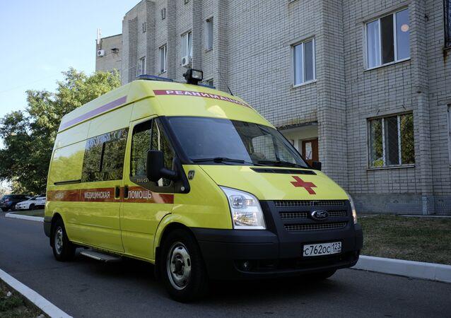 An ambulance vehicle. (File)
