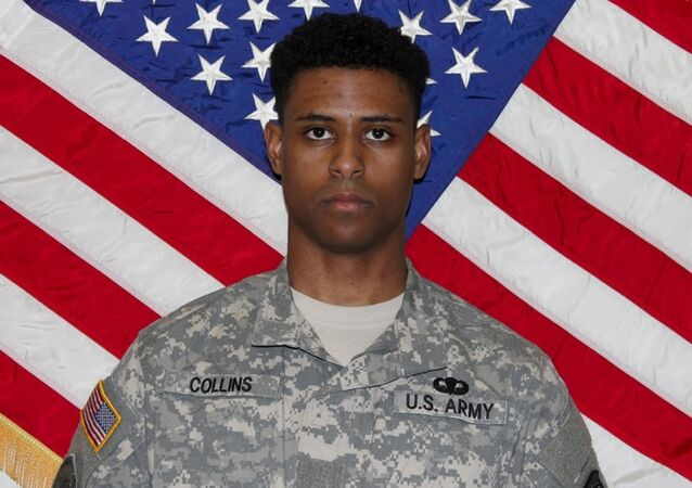 This undated photo provided by the US Army shows Richard Collins III.