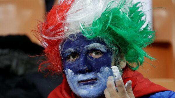 Italy vs Sweden - San Siro, Milan, Italy - November 13, 2017 Italy fans before the match - Sputnik International
