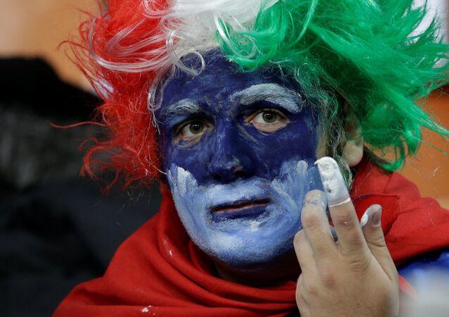 Italy vs Sweden - San Siro, Milan, Italy - November 13, 2017 Italy fans before the match