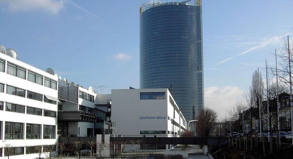 Deutsche Welle headquarters in the Schürmann building in Bonn