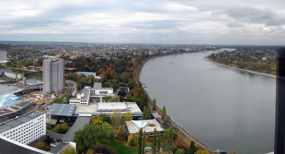 Panoramic view of Bonn