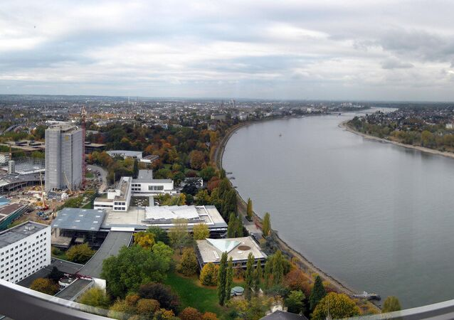 Panoramic view of Bonn