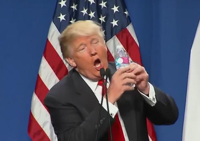 Trump mocking Marco Rubio