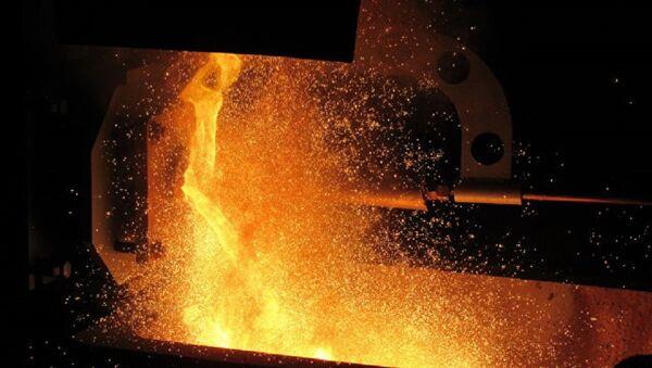 Melting of metals - Sputnik International