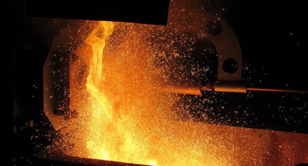 Melting of metals