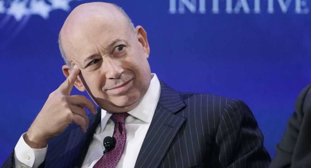 Lloyd Blankfein, Chairman and CEO of Goldman Sachs, attends the Clinton Global Initiative, Monday, Sept. 24, 2012 in New York.