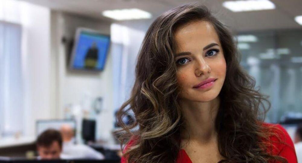 Russian MoD's Supernova: Meet the 26-Year-Old 'Defense Cutie' Spokeswoman -  Sputnik International