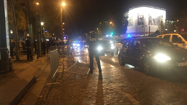 A rally in Paris held on November 18, 2017 - Sputnik International