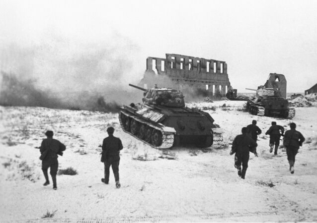 Fighting around Stalingrad, winter 1942/43