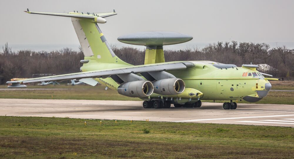 Beriev A-100 airborne early warning and control aircraft
