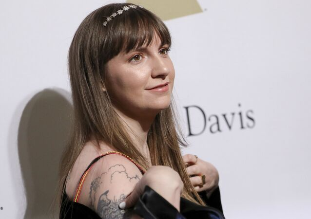 Lena Dunham attends the Clive Davis and The Recording Academy Pre-Grammy Gala at The Beverly Hilton Hotel on Saturday, February 11, 2017, in Beverly Hills, Calif.