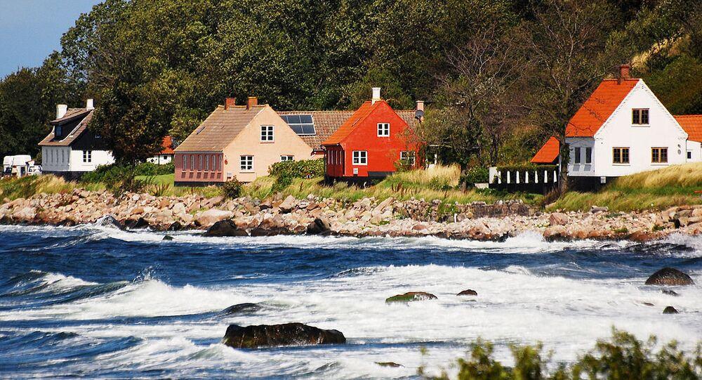 Bornholm's coastline
