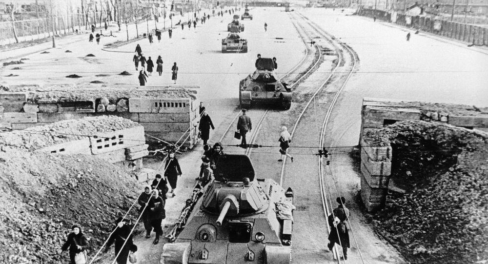 Leningrad during the blockade. (File)