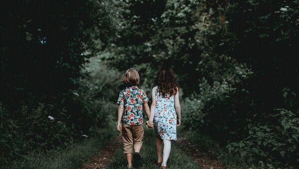 Couple of children - Sputnik International