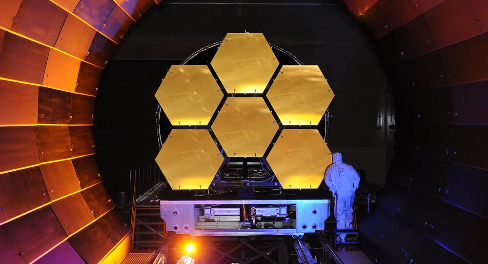 James Webb Space Telescope Mirrors Undergoing Cryogenic Testing