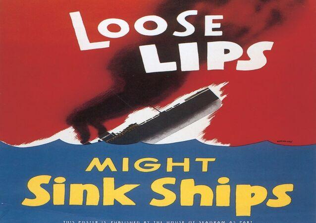 American World War II propaganda poster (public domain)