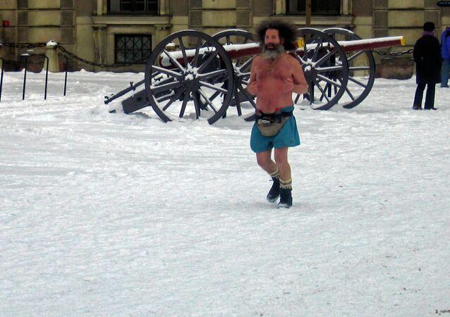 Jogging in Stockholm