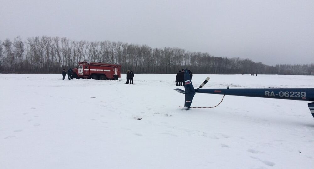 Robinson R66 helicopter crashes in Tambov Region