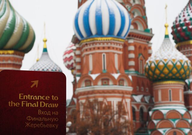 Preparations for the World Cup 2018 draw