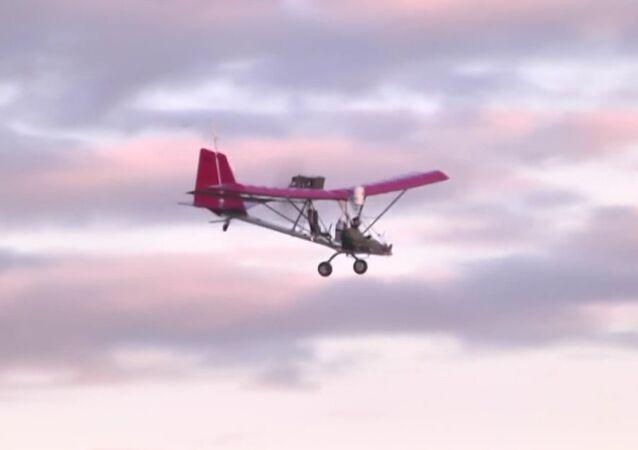 Leonid Kulesh's plane