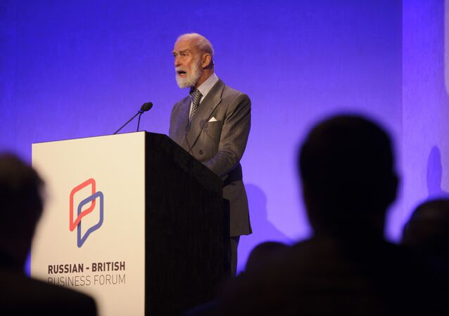 HRH Prince Michael of Kent, Patron of the Russo-British Chamber of Commerce