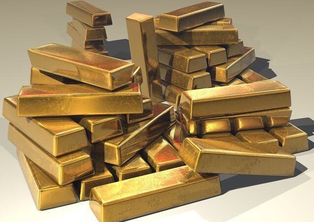 Golden ingots